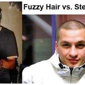 Fuzzy Hair vs Steve Angello