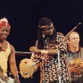 Barry Sangare, Dieter Weberpals + guest on stage: Oumou Sangare 1994