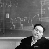 Milhaud in America, 1961.