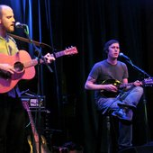 Tom Baisden and Brian Plonsky (Mostly Dimes live at the Crocodile) (Photo by Andy Aupperlee)