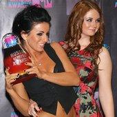 Backstage MTV awards
