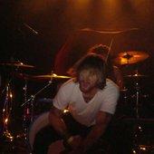 Jeremiah, Nikki on drums