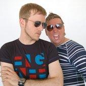 L & V: Sunglasses at night!