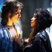 Adam Pascal & Rosario Dawson