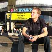 A-Lusion in front of the IMAX Theatre @ Sydney, Australia 2007