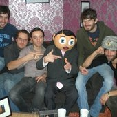 With Frank Sidebottom Nov 2008  - Channel M TV Show