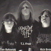 Baphomet, The band changed their name to Banished because of the German Baphomet. They released 2 albums as Baphomet and 1 as Banished!