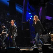 U2 with Bruce Springsteen and Patti Smith