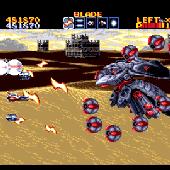Thunder Force IV - Sand Hell Boss