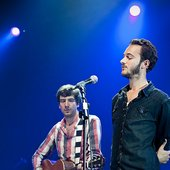 Tom Smith and Gary Lightbody