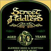 Street Fiddlers 10 Years Logo