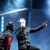 Slipknot live (Corey singing)