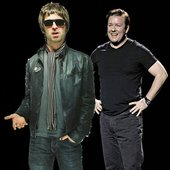 Ricky Gervais feat Noel Gallagher