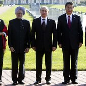 BRICS: Rousseff, Singh, Putin, Jinping, Zuma