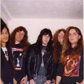 CONTEMPT - THRASH METAL from Richmond, California, Bay Area, USA - 1989-1993 - Members of Desecration, Sacrilege B.C., Führer, Fueled, Mercenary and Tungsten. 100% Thrashers!