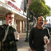 Baya in Cali with Lyricsist A.Rodreguez