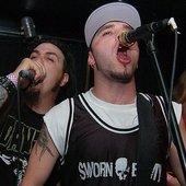 Kurt, Adam, and former guitarist BV