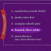 Fossick game card