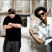 Blu and Exile.