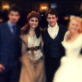 Nick Jonas & Samantha Barks