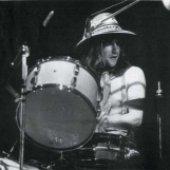 Robert Wyatt as drummer