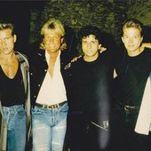 Blue System 1988 (kill me, I don't know the guy in the centre)