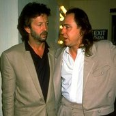 Stevie Ray Vaughan and Eric Clapton
