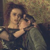Edward Sanders and Helena Bonham Carter