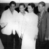 Juanita Rogers & Lynn Hollings with Mr. V's Five Joys