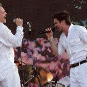 Miguel Bose con Juanes