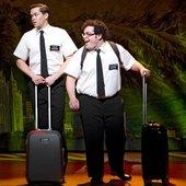 "Andrew Rannells (Elder Kevin Price) & Josh Gad (Elder Arnold Cunningham) - \""The Book of Mormon\"" on Broadway"