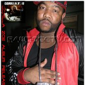 GORILLA ZOE VIDEO SHOOT