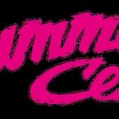 Schriftzug Pink