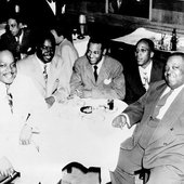 Jimmy Rushing with Count Basie, Ernie Fields, Melvin Moore and Charlie Christian
