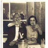 Cole Porter with his wife Linda Lee Thomas