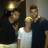 Afrojack, Shakira & Pique