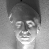Chopin death mask