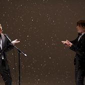 "съёмки клипа \""Падает снег\"""