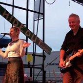 Sally Timms and Jon Langford