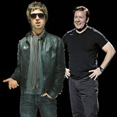 Ricky Gervais & Noel Gallagher