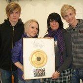 Planet Emily Goldene Papp-Schallplatte :)