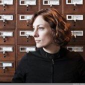 Sarah and filing cabinets.