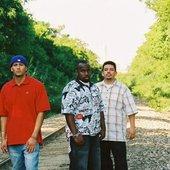 (L to R) Ike, Mike and Dj Diamond Tip