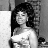 Mary Wells backstage