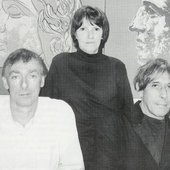 John Cale, Moe Tucker and Sterling Morrison