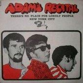 Adam's Recital