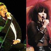 Morrissey & Siouxsie