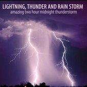 Lightning, Thunder and Rain Storm