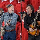 Pete Seeger & Bruce Springsteen