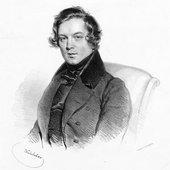 Robert Schumann - 1839 by Joseph Kriehuber